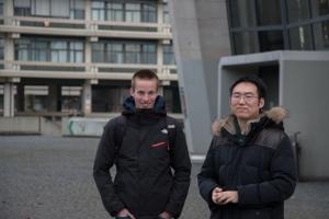 Joe and Thomas at the Ruhr-Universität Bochum