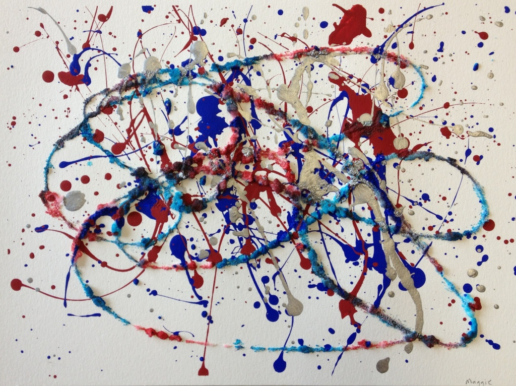http://en.wikipedia.org/wiki/Jackson_Pollock