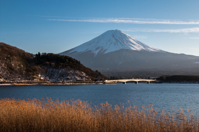 Mt. Fuji in all its glory.