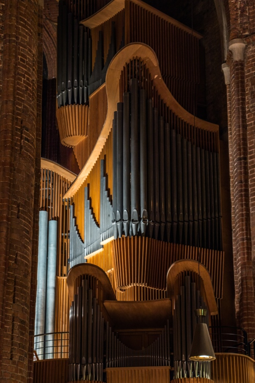 After the bombings of WWII, this organ (great as it is) pales in comparison to the original organ from the 17th century.