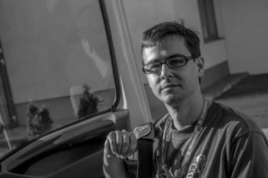 Juraj Kiss, also an organizer for the volunteer bike share program in Bratislava.