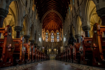 Cobh Cathedral - inside