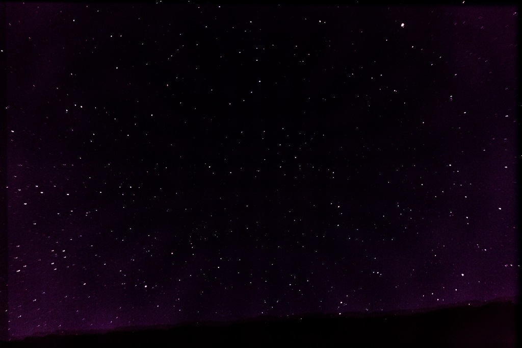 Not the best, and not at all like it was being there, but oh my, lots of stars.