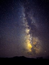 Our home in the universe, the Milky Way, as seen from Earth, Kitt Peak, East of Tucson