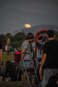 These guys telescope packs compactly and makes for a great portable viewport into the sky.