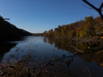 beautiful Ogle lake in Indiana